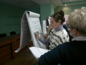 Фото с тренинга в Омске