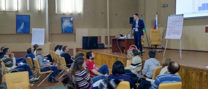 Тренинг по управлению проектами на Селигере